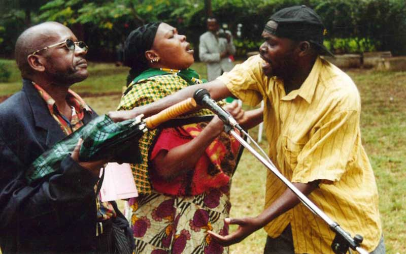 Veteran Kenyan comedian Masaku dead