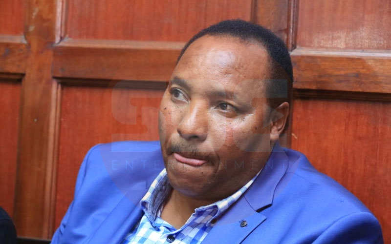 VIDEO: Waititu forced to vacate VIP seat at Mashujaa Day fete