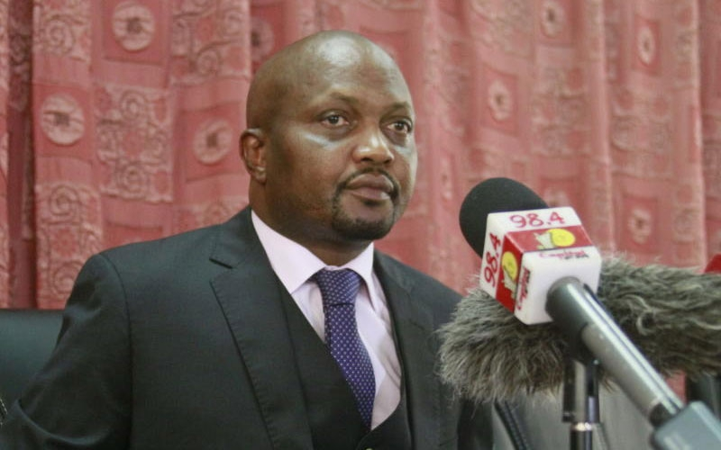Why Moses Kuria is mad with President Kenyatta