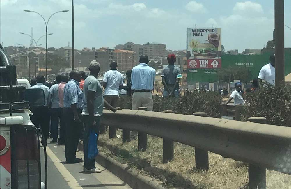 Traffic Snarl up: Why you should avoid Thika Road at all costs today