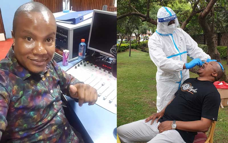TV presenter Bonnie Musambi says he recovered from COVID-19