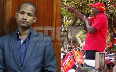 Uhuru Kenyatta responds to Babu Owino's insult