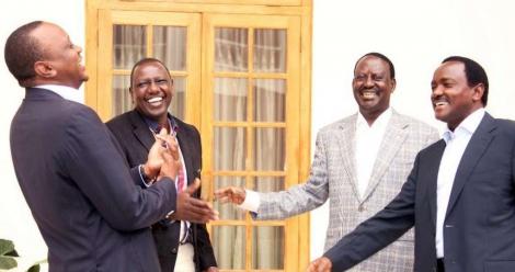 Uhuru meets Raila: Why Kenya's 2017 General election is historical