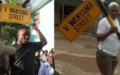 Victor Wanyama Street removal causes storm