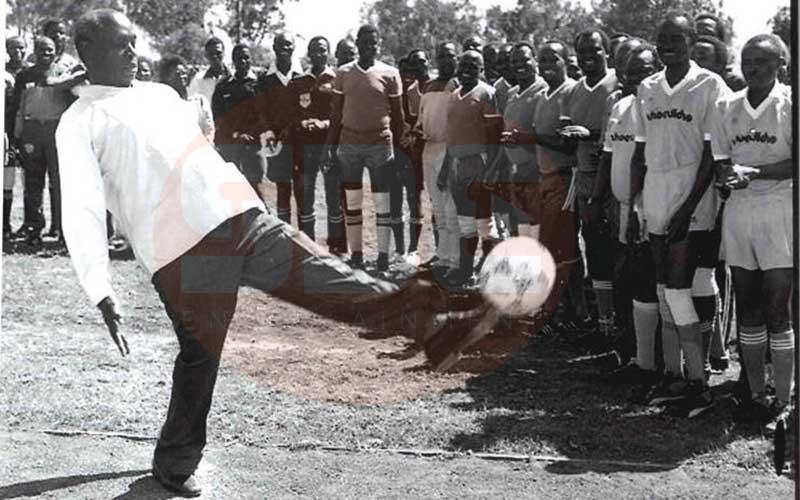 Was retired President Daniel Arap Moi a Gor Mahia fan?