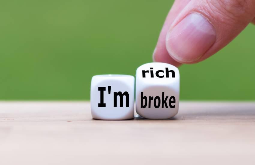 6 habits of perpetually broke people