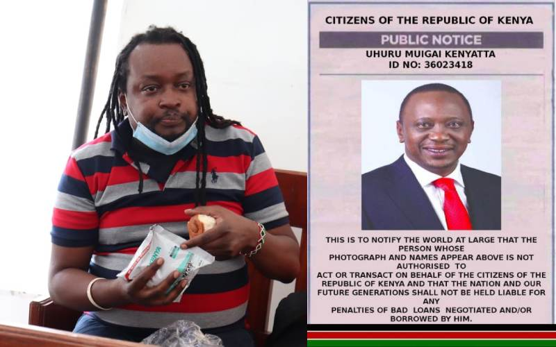 Activist behind viral Uhuru poster arrested