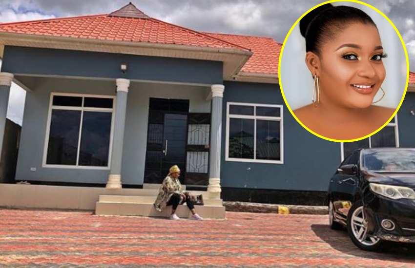 Actress Shilole flaunts house, urges women to seek independence