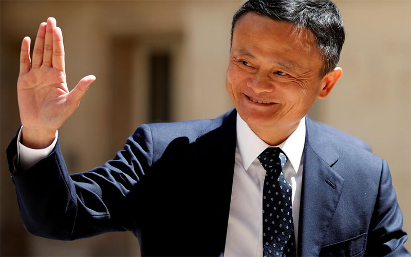 Alibaba shares jump as Jack Ma makes first live appearance in three months