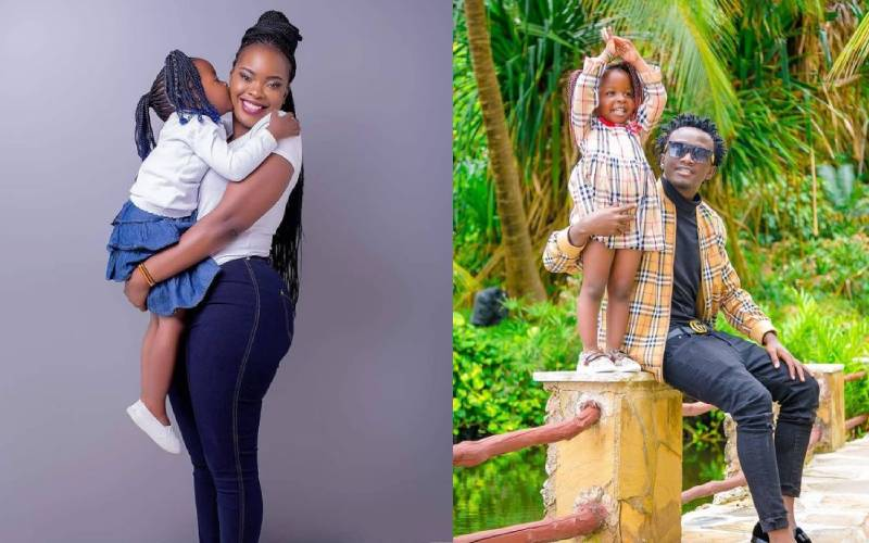 Bahati apologises to daughter Mueni, Yvette for denying them to protect reputation