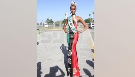 Behold Africa's beauty queen, Evelyn Njambi