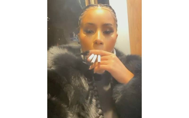 US Elections: Cardi B smokes three cigarettes at once as she nervously waits for US election results