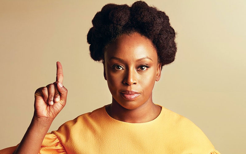 Chimamanda Ngozi mourning mother's death
