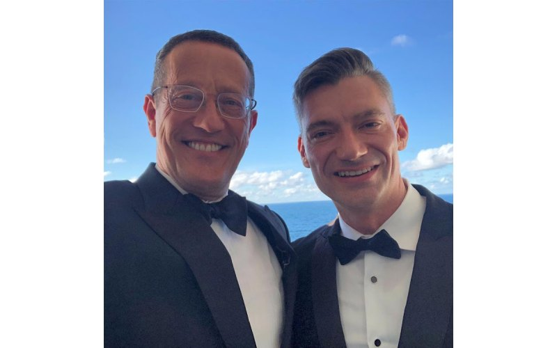 CNN's Richard Quest and his male lover tie the knot