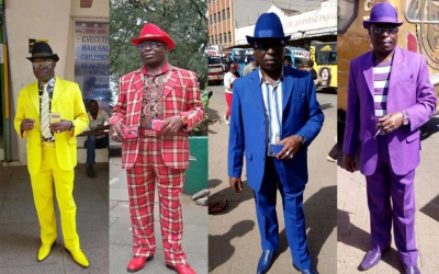 Colour me bad: Meet the Nairobian man who matches everything from boxers to phone covers every single day