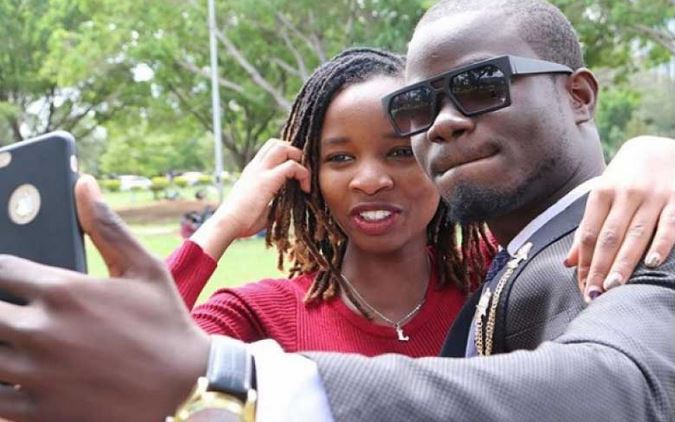 Comedian Mulamwah back together with ex-girlfriend Sonie?