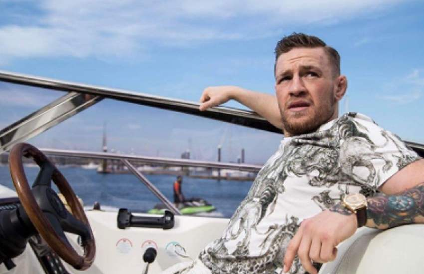 Conor McGregor's yacht raided by police in front of fiancee and two young children