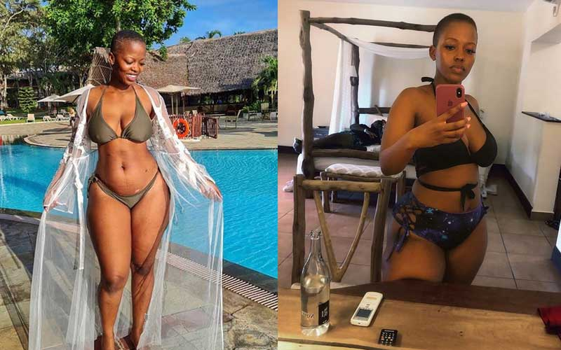 Corazon Kwamboka responds to criticism over bikini snaps