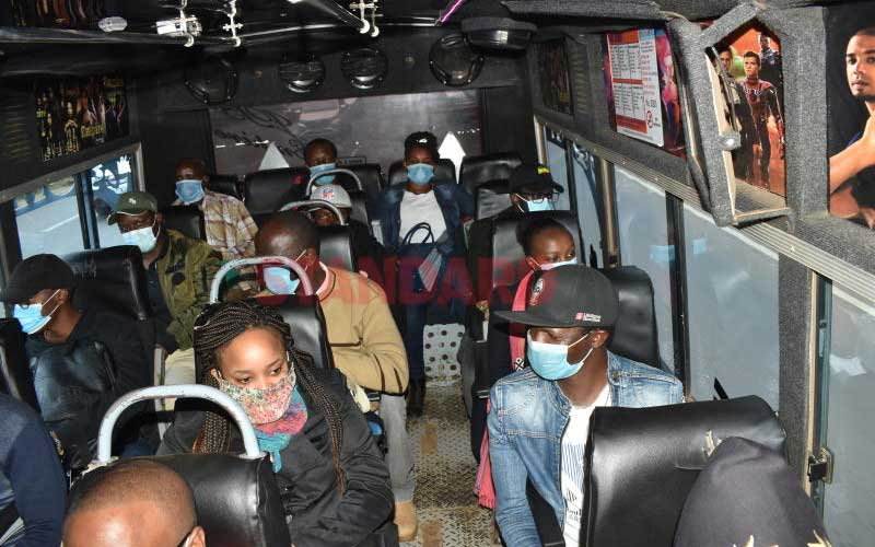 COVID-19 war: New strict rules for matatu operators from next week