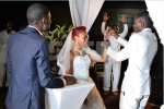 Churchill Show's comedian Mtumishi's wedding in photos