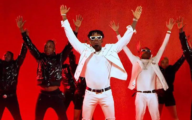 Diamond Platnumz first East African artist to clock 100 million views in one song