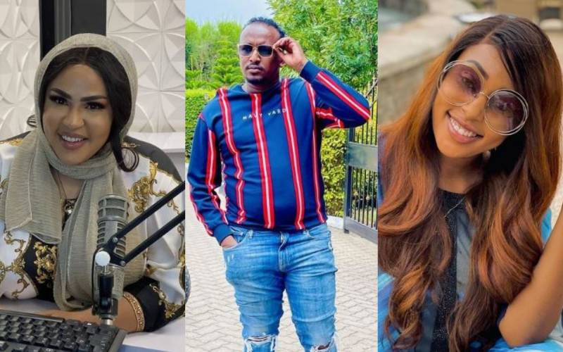 VIDEO: Drama as Amber Ray and Amira confront each other in Syokimau