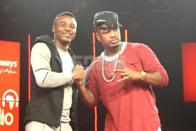 Ne-Yo meets African artistes at the Coke Studio