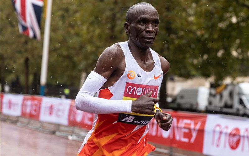 Eliud Kipchoge's message of hope days after London Marathon shocker