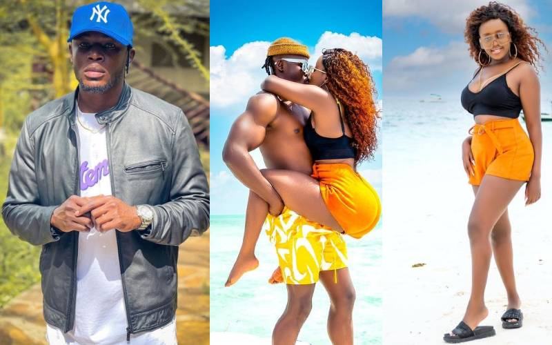 Fans react to Nadia Mukami's romantic post while embracing Arrow Bwoy