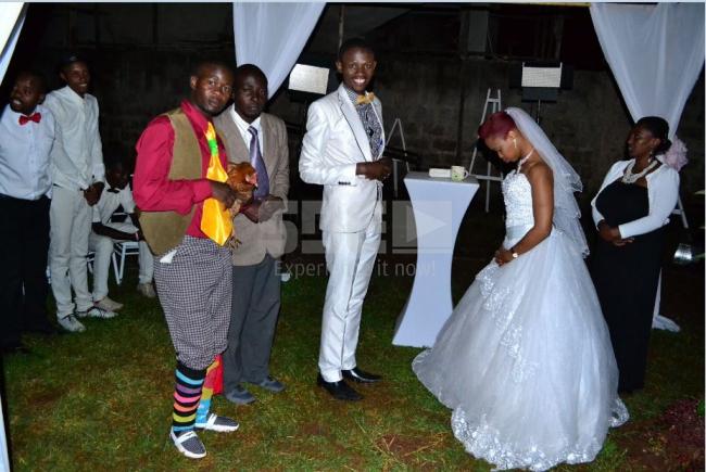 Comedian Mtumishi's wedding