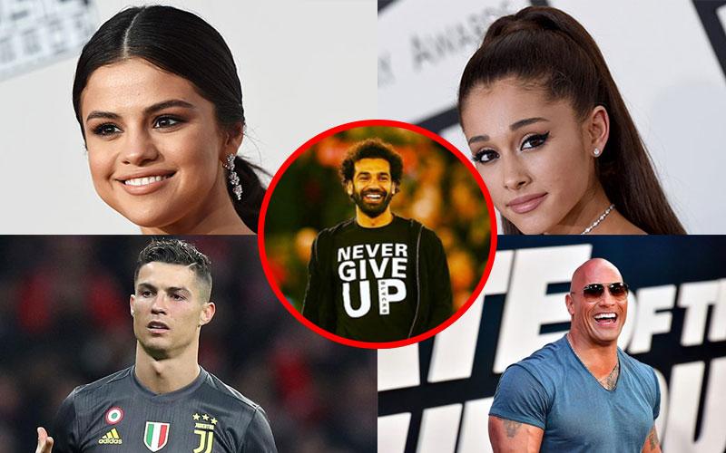 Five most followed celebrities on Instagram
