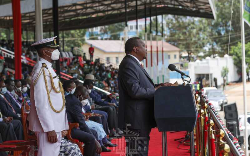 Focus on positivity, Uhuru tells the youth