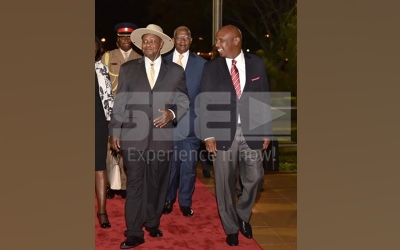 Gideon Moi steals limelight as he welcomes VIPs