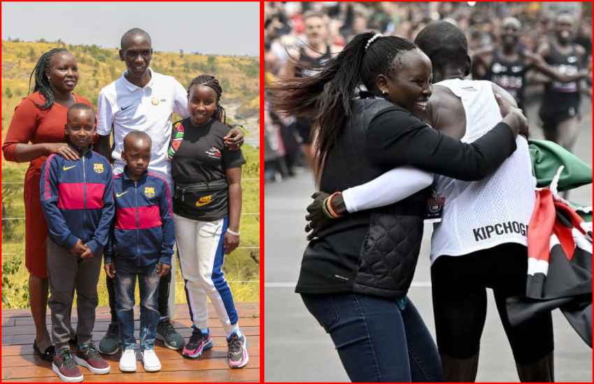 Grace Sugut: The power behind the icon, Eliud Kipchoge
