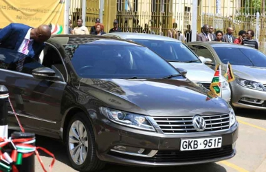 Hand over: MPs told to return government issued vehicles