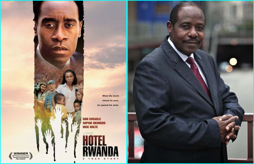 Hotel Rwanda film hero arrested on terror charges