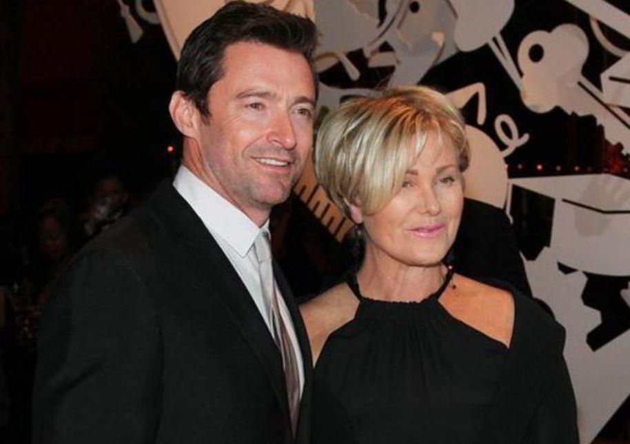 Hugh Jackman's wife Deborra-Lee Furness addresses rumours her husband is gay