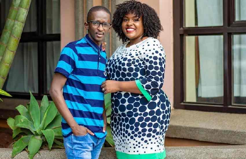 I am not pregnant - Njugush's wife, Celestine 'Wakavinye' Ndinda
