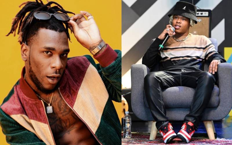 I'll put my money on Nasty C over any American rapper – Burna Boy