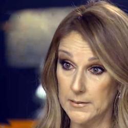 Singer Celine Dion breaks down as she reveals her husband's struggle with throat cancer