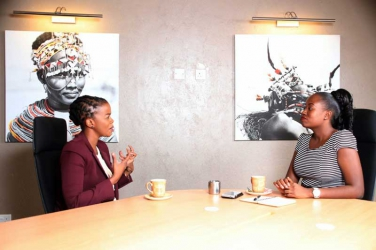 In the Cottage with: CCTV Africa's Lindy Mtongana - Journalists are not and should not be celebrities