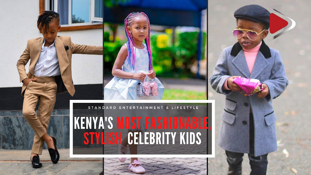 Kenya's most stylish celebrity kids