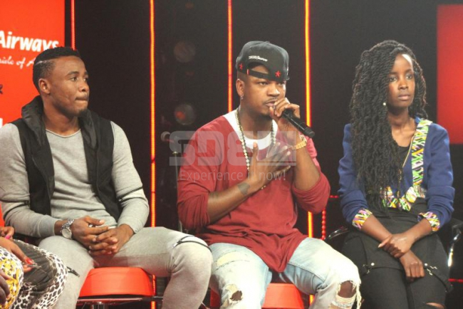 Ne-yo plans to do a collaboration with various African artists like our very own rapper Wangeci and Tanzanian artist Ali Kiba at Coke Studios Photo: Angela Maina/Standard