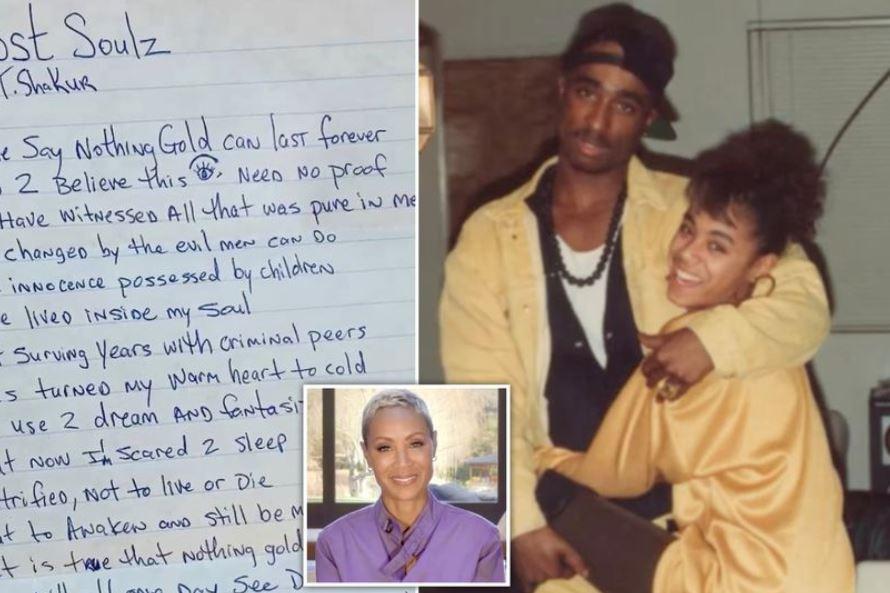 Jada Pinkett Smith shares unreleased Tupac poem ahead of his 50th birthday