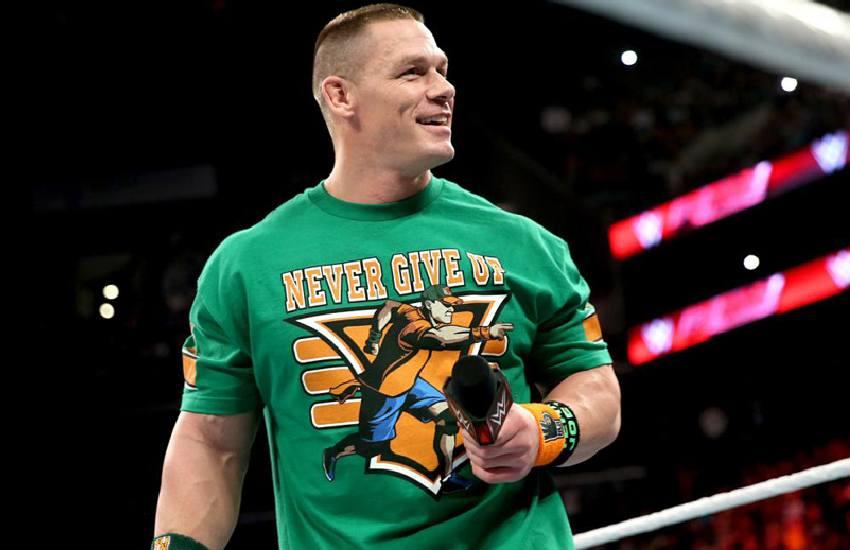 John Cena breaks silence after 'secret wedding' to girlfriend Shay Shariatzadeh