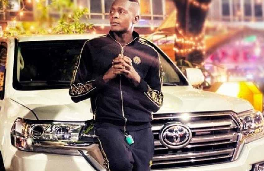 Jose Chameleone in trouble, summoned over Land Cruiser V8's ownership
