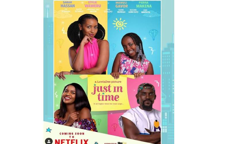 Kenyan film 'Just In Time' to premiere on Netflix worldwide