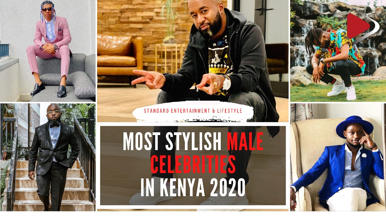 Most stylish male celebrities in Kenya 2020
