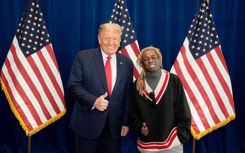 Lil Wayne 'dumped by girlfriend Denise Bidot' after he endorses Donald Trump