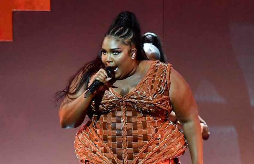 Lizzo praised for body confidence as she performs at BRITs